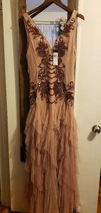 BCBG gown